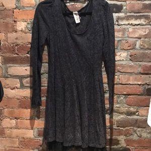 Free People Black Dress M